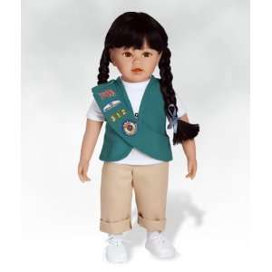 Doll, Olivia   Girl Scout, Made in Vinyl Paradise Galleries Dolls