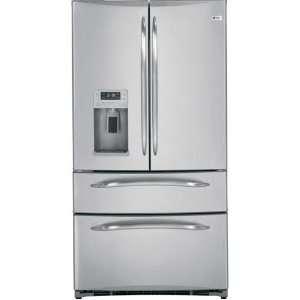 GE Stainless Steel Bottom Freezer Freestanding Refrigerator PGCS1RKZSS