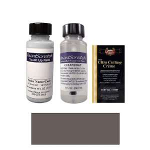 1 Oz. Graphite Gray Pearl Metallic Paint Bottle Kit for