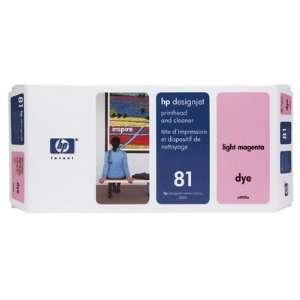 Hewlett Packard 81 Printhead Cleaner Light Magenta Ink Not