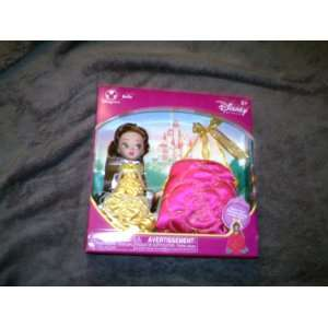 Disney Princess Pocket Belle Doll with Purse Everything