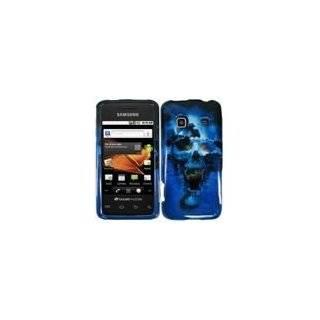 Blue Skull Hard Case Cover for Samsung Prevail M820 Samsung Precedent