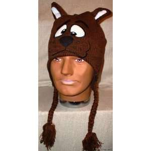SCOOBY DOO Knitted Laplander Beanie CAP/HAT