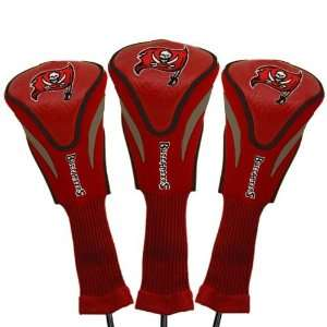 Bay Buccaneers Red Three Pack Golf Club Headcovers