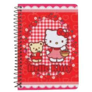 Hello Kitty Mini Spiral Notebook  Apple Toys & Games