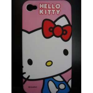 Cover Case ~Pink Hello Kitty in Blue Shirt~ Cell Phones & Accessories