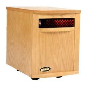 Sunheat 1500 Watt Infrared Room Heater   Golden Oak or Natural Oak