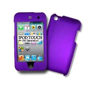 com iPod Touch 4G, 4Th Generations PURPLE Hard Case, Protector Cover