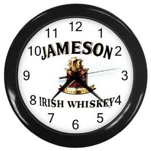 Jameson Irish Whiskey Logo New Wall Clock Size 10 Free