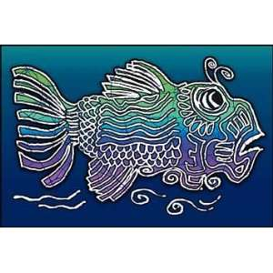 Grateful Dead Fish Art Window Sticker Everything Else