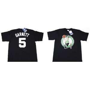 Celtics #5 Black Name And Number Jersey T Shirt