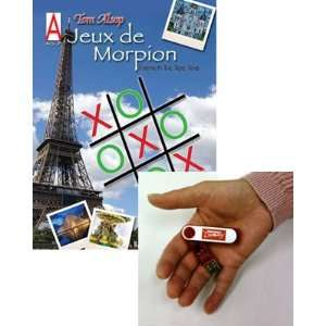 Jeux De Morpion (French Tic Tac Toe) Book on Flash Drive