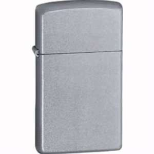 Zippo Lighters 13065 Slim Zippo Lighter with Satin Chrome Finish