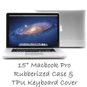 Macbook Pro Case with TPU Keyboard Cover