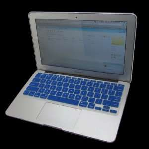 Cbus Wireless Blue Keyboard Silicone Skin Cover for MacBook