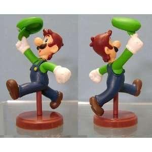 Furuta Choco Party Super Mario Puzzle Figure Luigi Toys & Games