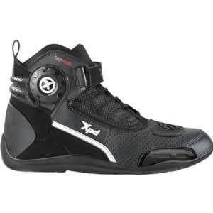 Spidi X Ultra Mens Shoes On Road Motorcycle Boots   Black
