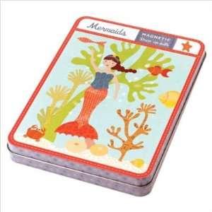 Mudpuppy Press 2336 0 Mermaids Magnetic Figures  Toys & Games