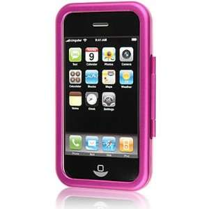 Apple 3G iPhone/ iPhone 3GS Hot Pink Aluminum Metal Hard Case