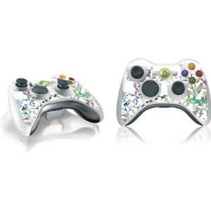 Frondescence Vinyl Skin for 1 Microsof Xbox 360 Wireless Conroller