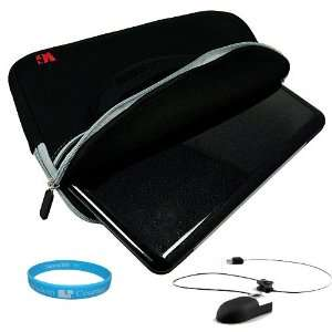 Mini Mouse with Retractable Cord for Laptop and Desktop + SumacLife TM