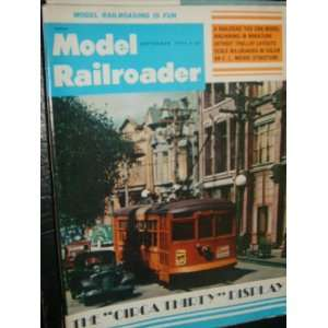 Model Railroader Magazine (September, 1975) Staff  Books
