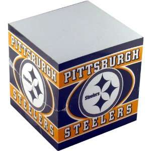 NFL Football Team Logo Paper Note Cube   Pittsburgh