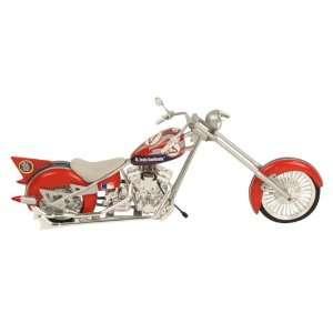 St. Louis Cardinals 180 Scale Diecast OCC Chopper Motorcycle