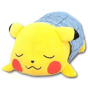 Pokemon 14 Sleeping Pikachu Plush  Toys & Games