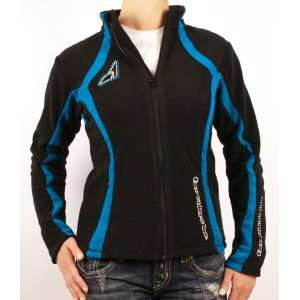 Womens FXR Curve Fleece Shirt, BLACK/PINK