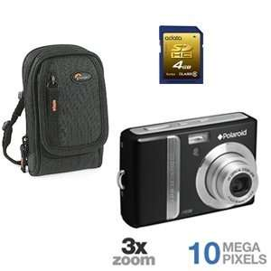 Polariod I1036 Digital Camera, SDcard, Case Bundle
