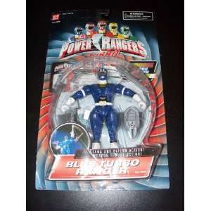 Bandai Power Rangers Blue Turbo Ranger Acion Figure Toys & Games