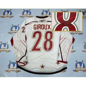 All Star Game SIGNED Rbk Premier Hockey Jersey Sports Collectibles
