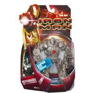 Iron Man Iron Monger I Action Figure (Red Light) Toys & Games