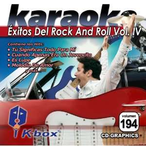 KBO 194 Exitos De Rock And Roll Vol 4(Karaoke) Music