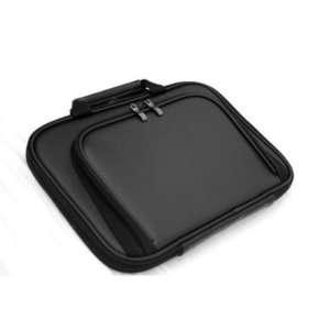 Netbook Case Bag With Front Pocket (Black) for Samsung NF310 A01 10.1