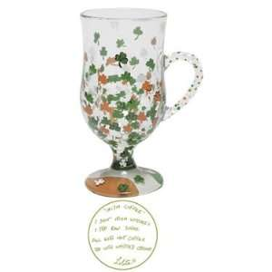 Lolita Glass Hot Coffee Mug  Irish Coffee New Gift
