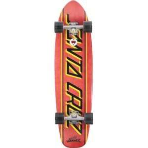 Santa Cruz Jammer Big Strip Complete Skateboard   8.9 x 35