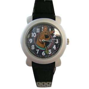 Warner Bros Scooby Doo watch with black textile band  Toys & Games