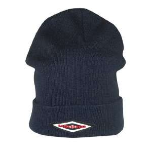 Umbro Mens Warm Cuffed Ski & Skate Beanie / Winter Hat   One Size Fits