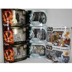 Star Wars, Clone Wars, Commemorative Trilogy DVD Collection Sets