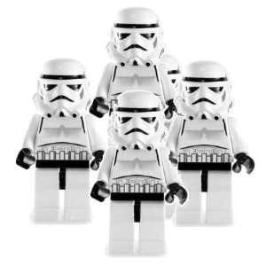 Star Wars Lego Stormtrooper 4 Pack  Toys & Games