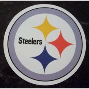 Pittsburgh Steelers Team Logo NFL Car Magnet  Sports