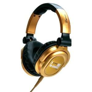 Recording Studio Equipment , Gold and Black Musical Instruments