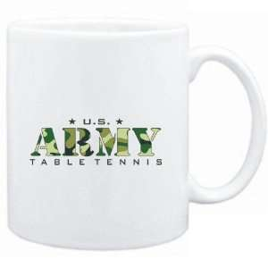 Mug White  US ARMY Table Tennis / CAMOUFLAGE  Sports