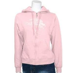 Jacksonville Jaguars Ladies Pink Tickets Full Zip Hoody