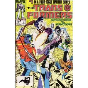 The Transformers, Vol 1 #2 (Comic Book) #2 IN A FOUR ISSUE