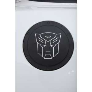Locking Fuel Door with Transformers Autobot Logo for Camaro 2010 2011