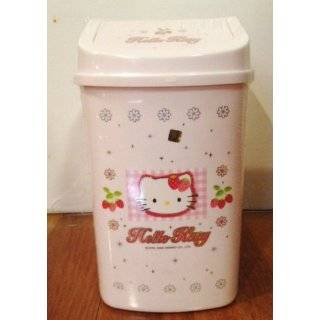 Sanrio Hello Kitty Waste Bin   Hello Kitty Trash Can (Red)