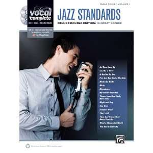 Vocal Complete Male Voice Jazz Standards Book & 2